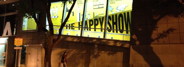 Sagmeister's Happy Show = Awesome